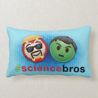Iron Man & Hulk #sciencebros Emoji Lumbar Pillow