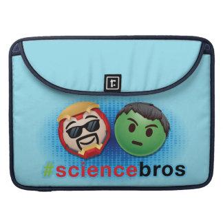 Iron Man & Hulk #sciencebros Emoji Sleeve For MacBook Pro