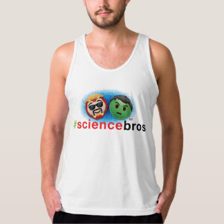 Iron Man & Hulk #sciencebros Emoji Tank Top