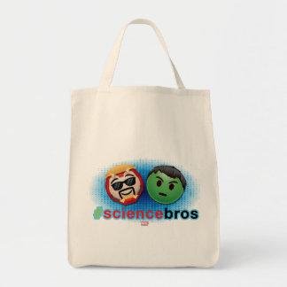 Iron Man & Hulk #sciencebros Emoji Tote Bag