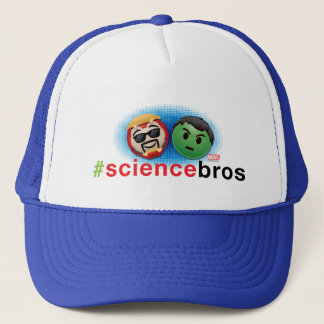 Iron Man & Hulk #sciencebros Emoji Trucker Hat