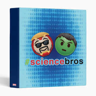 Iron Man & Hulk #sciencebros Emoji Vinyl Binder