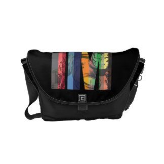 Iron Man iM Character Graphic Courier Bag