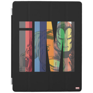 Iron Man iM Character Graphic iPad Cover