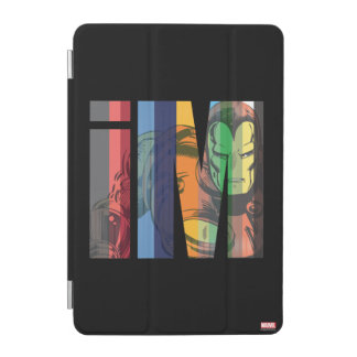 Iron Man iM Character Graphic iPad Mini Cover