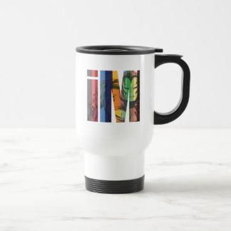 Iron Man iM Character Graphic Travel Mug