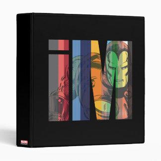 Iron Man iM Character Graphic Vinyl Binders