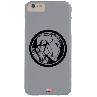 Iron Man Profile Logo Barely There iPhone 6 Plus Case