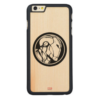 Iron Man Profile Logo Carved® Maple iPhone 6 Plus Case