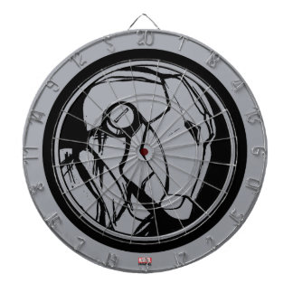 Iron Man Profile Logo Dartboards