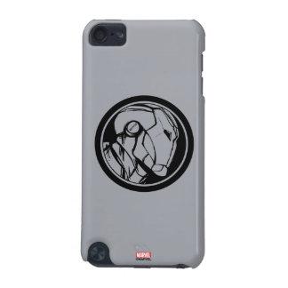 Iron Man Profile Logo iPod Touch 5G Case