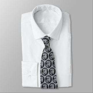 Iron Man Profile Logo Tie