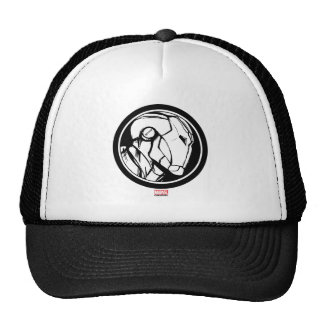 Iron Man Profile Logo Trucker Hat