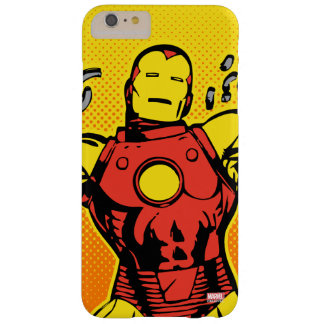 Iron Man Retro Breaking Chains Barely There iPhone 6 Plus Case