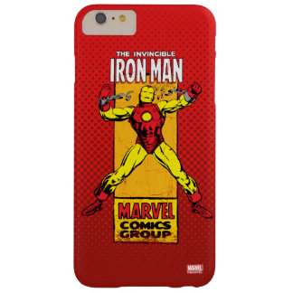 Iron Man Retro Breaking Chains Comic Barely There iPhone 6 Plus Case