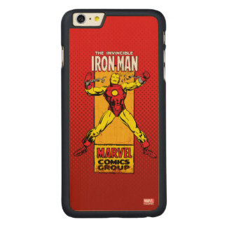 Iron Man Retro Breaking Chains Comic Carved® Maple iPhone 6 Plus Case