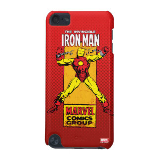 Iron Man Retro Breaking Chains Comic iPod Touch 5G Cases