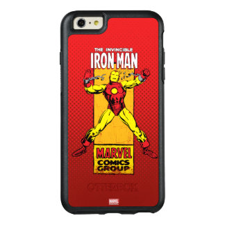 Iron Man Retro Breaking Chains Comic OtterBox iPhone 6/6s Plus Case