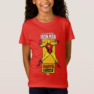 Iron Man Retro Breaking Chains Comic T-Shirt