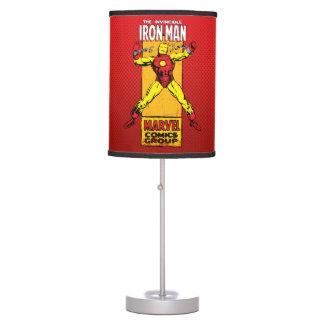 Iron Man Retro Breaking Chains Comic Table Lamp