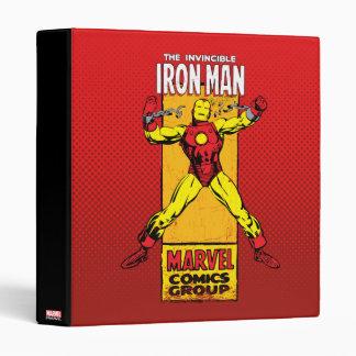 Iron Man Retro Breaking Chains Comic Vinyl Binder