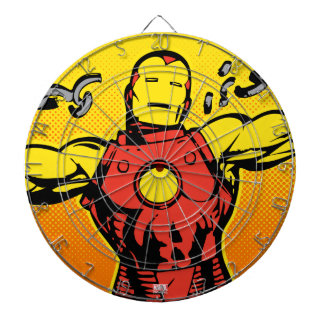 Iron Man Retro Breaking Chains Dartboard
