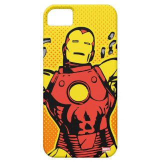 Iron Man Retro Breaking Chains iPhone 5 Cases