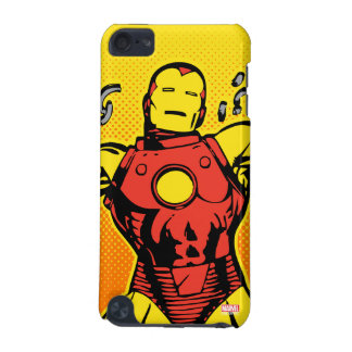 Iron Man Retro Breaking Chains iPod Touch (5th Generation) Covers