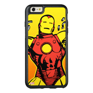 Iron Man Retro Breaking Chains OtterBox iPhone 6/6s Plus Case
