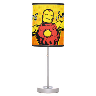 Iron Man Retro Breaking Chains Table Lamp