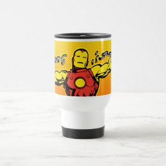 Iron Man Retro Breaking Chains Travel Mug