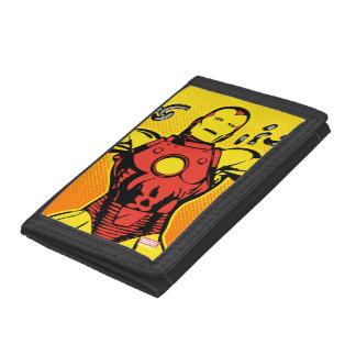 Iron Man Retro Breaking Chains Tri-fold Wallets