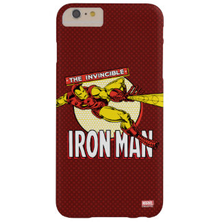 Iron Man Retro Character Graphic Barely There iPhone 6 Plus Case