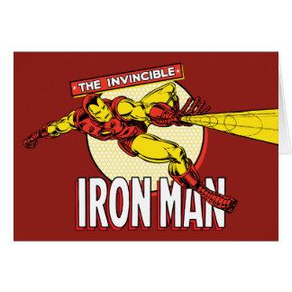Iron Man Retro Character Graphic Card