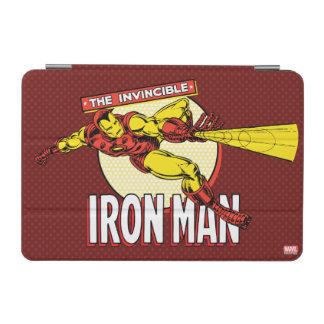 Iron Man Retro Character Graphic iPad Mini Cover