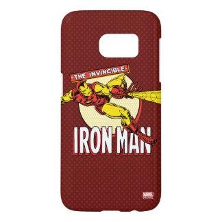 Iron Man Retro Character Graphic Samsung Galaxy S7 Case