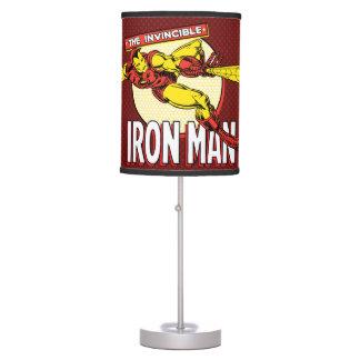 Iron Man Retro Character Graphic Table Lamp