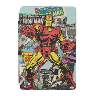 Iron Man Retro Comic Collage iPad Mini Cover