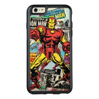Iron Man Retro Comic Collage OtterBox iPhone 6/6s Plus Case