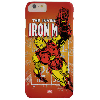 Iron Man Retro Comic Price Graphic Barely There iPhone 6 Plus Case