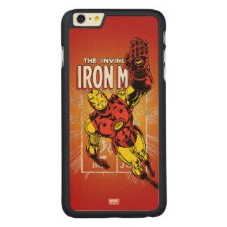 Iron Man Retro Comic Price Graphic Carved Maple iPhone 6 Plus Case