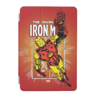 Iron Man Retro Comic Price Graphic iPad Mini Cover