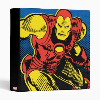 Iron Man Retro Flying 3 Ring Binders