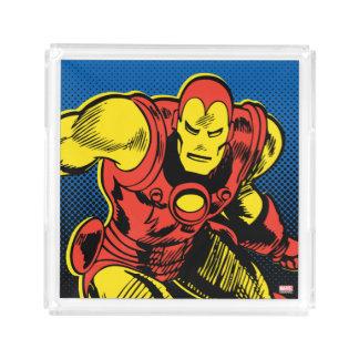 Iron Man Retro Flying Acrylic Tray