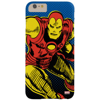 Iron Man Retro Flying Barely There iPhone 6 Plus Case