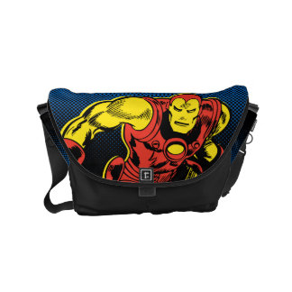 Iron Man Retro Flying Courier Bags