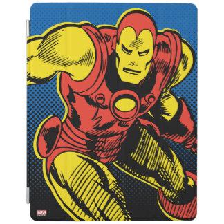 Iron Man Retro Flying iPad Cover