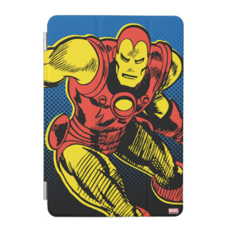 Iron Man Retro Flying iPad Mini Cover