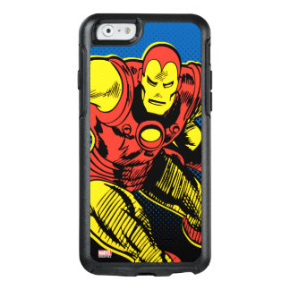 Iron Man Retro Flying OtterBox iPhone 6/6s Case