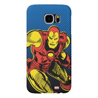 Iron Man Retro Flying Samsung Galaxy S6 Cases